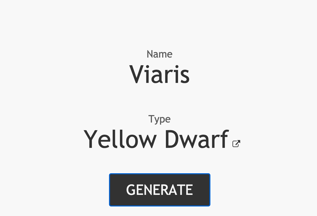 Featured Image for `Star Name Generator`